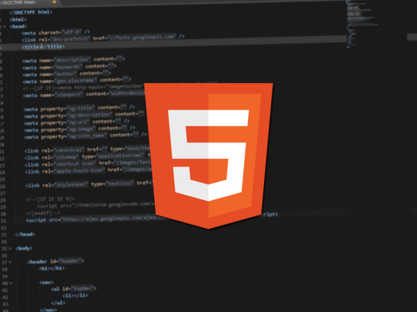 html5 Sublime text snippet